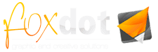Foxdot.me Logo Marke