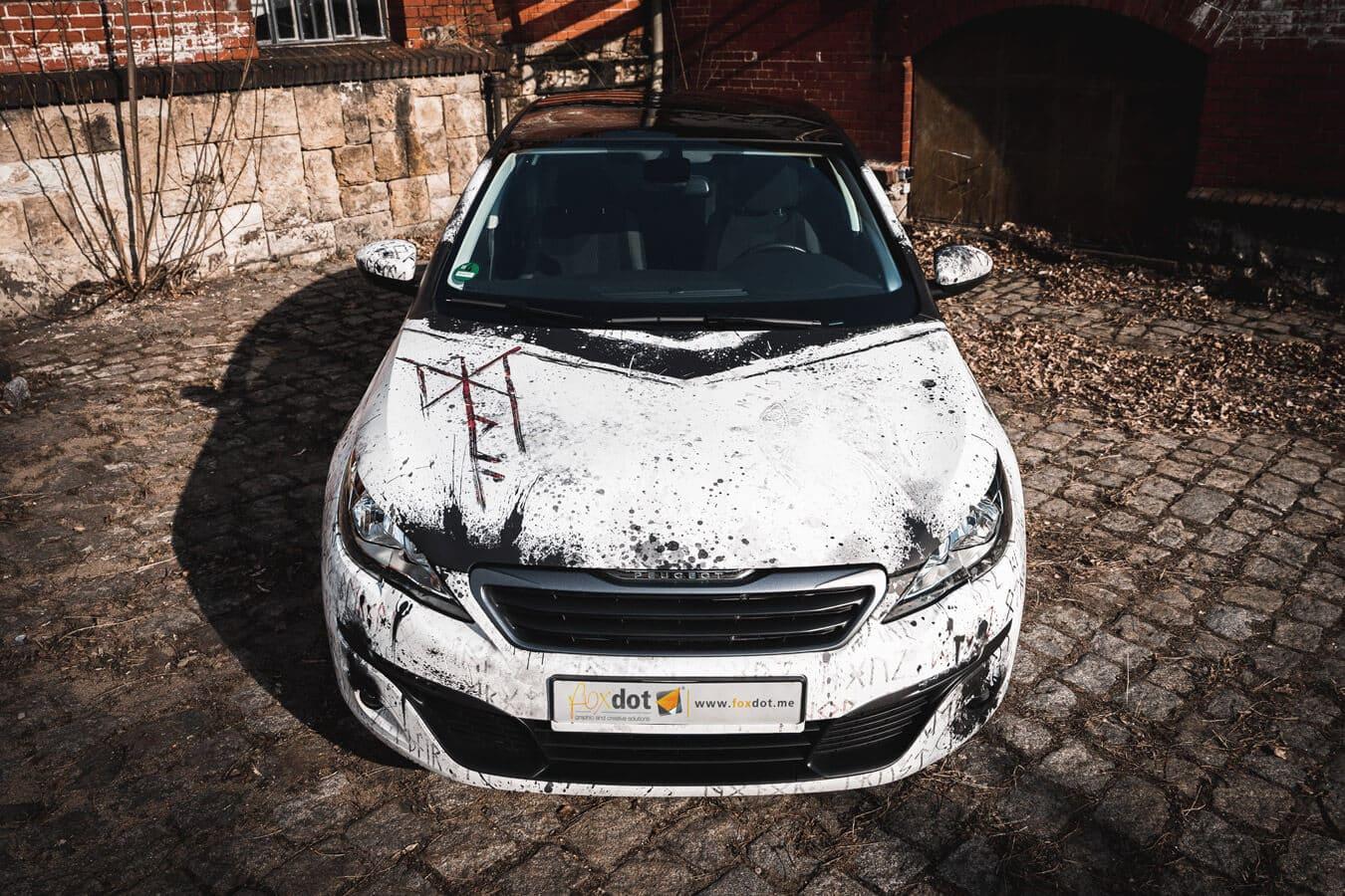 Front des Peugeot 308